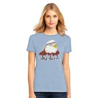 Mullet Eagle Tee, Women's