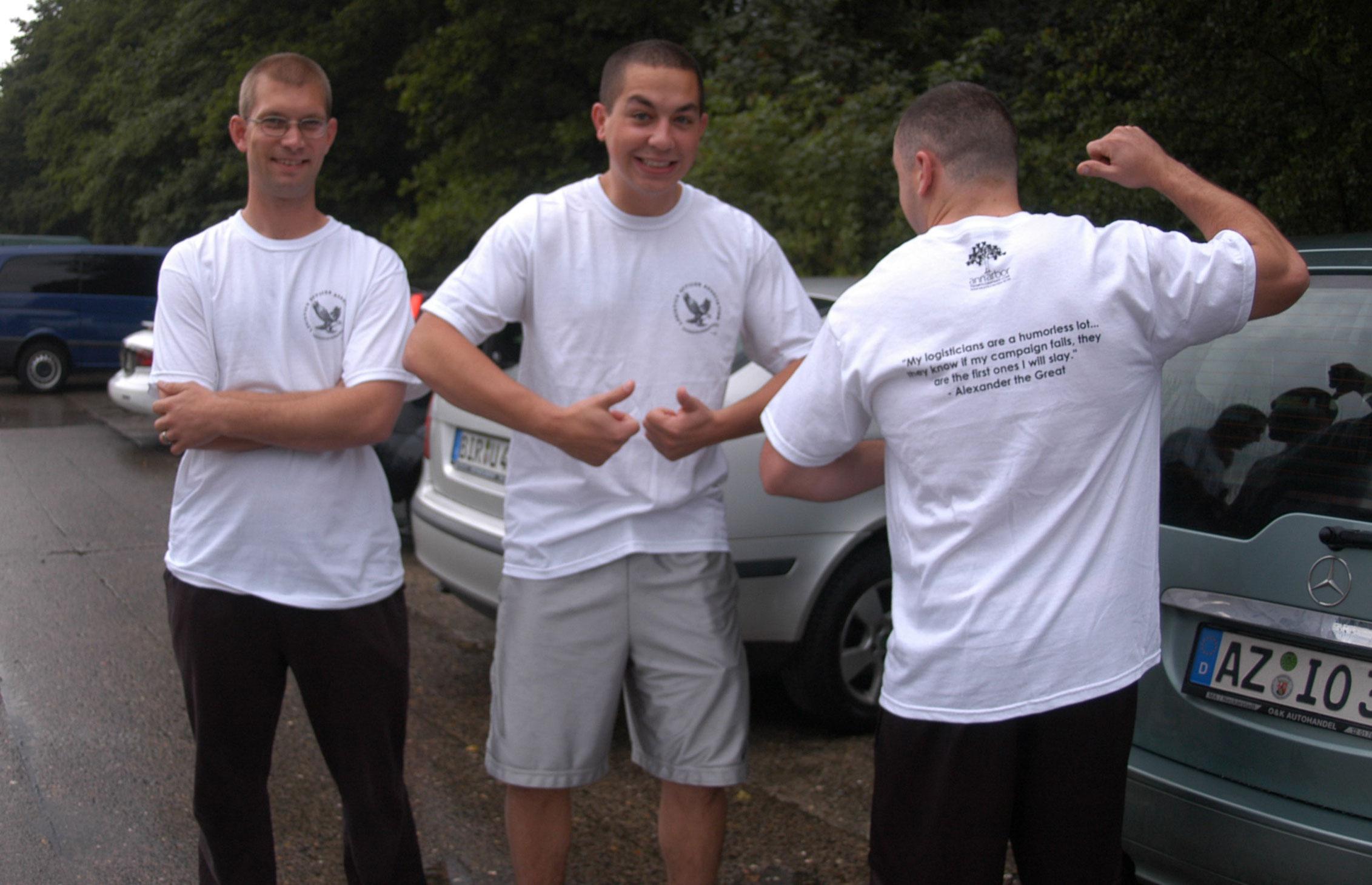 Rammstein Airbase t-shirt