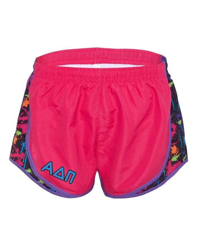 Alpha Delta Pi women's running shorts
